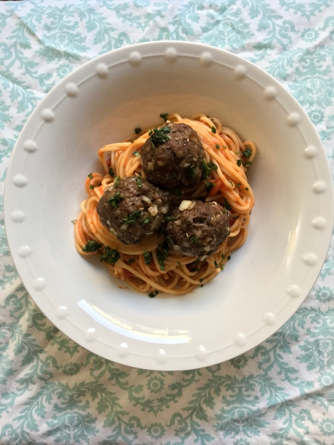 Dairy Free and Eggless Meatballs