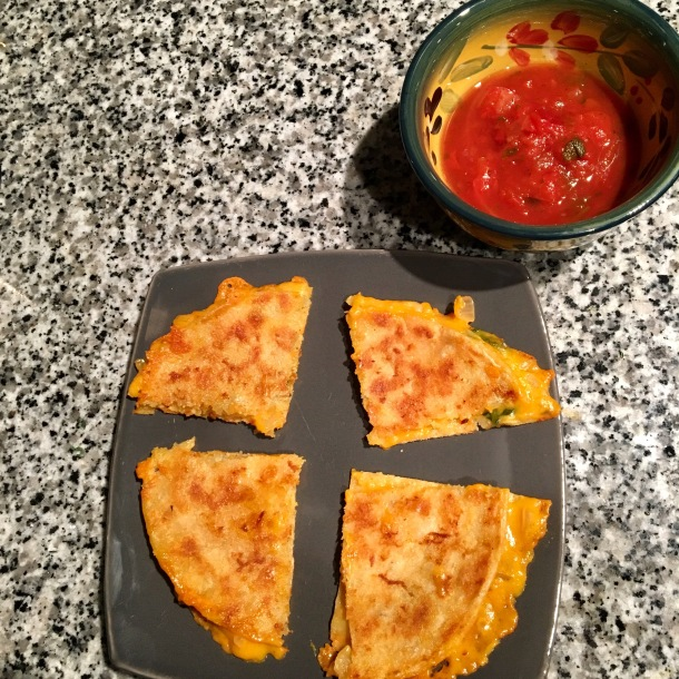 dairy-free-cheese-and-spinach-quesadilla