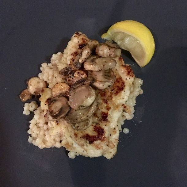 Lemon Garlic Chicken w Mushrooms 6