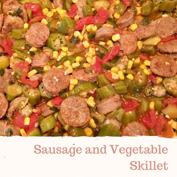sausage-and-vegetable-skillet