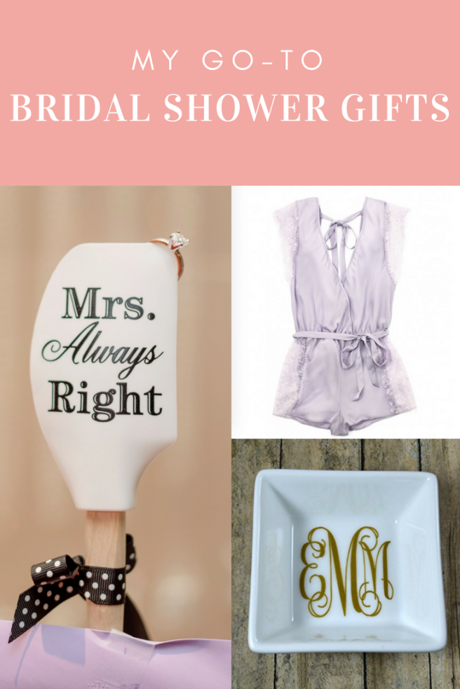 my go to bridal shower gifts