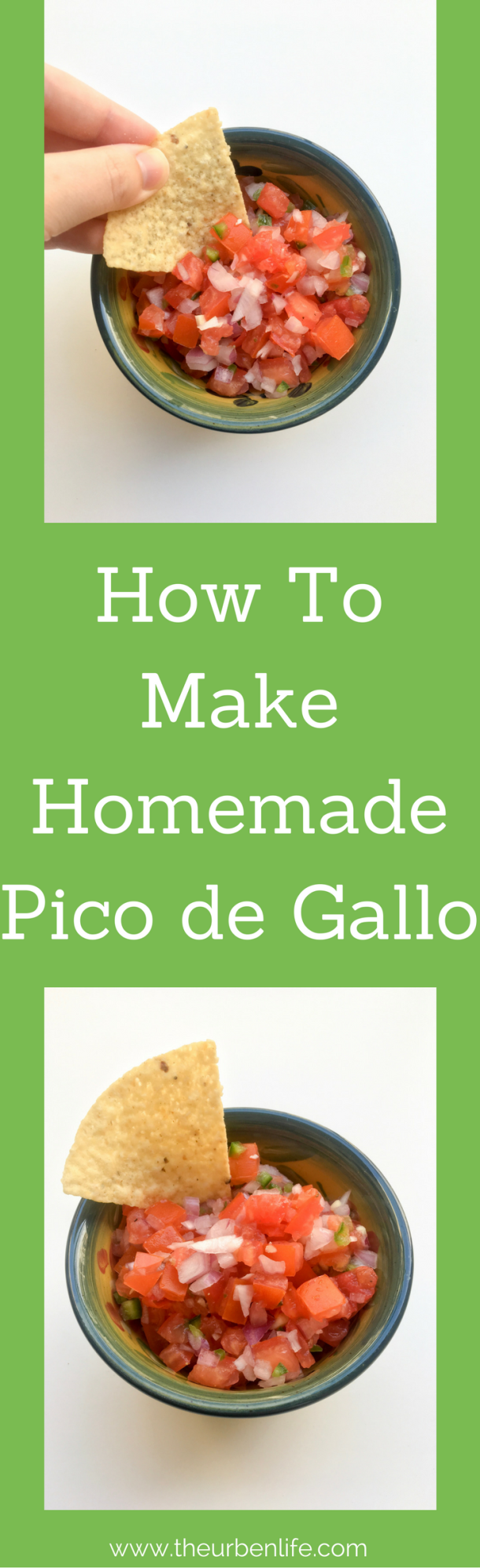 How To Make Homemade Pico de Gallo