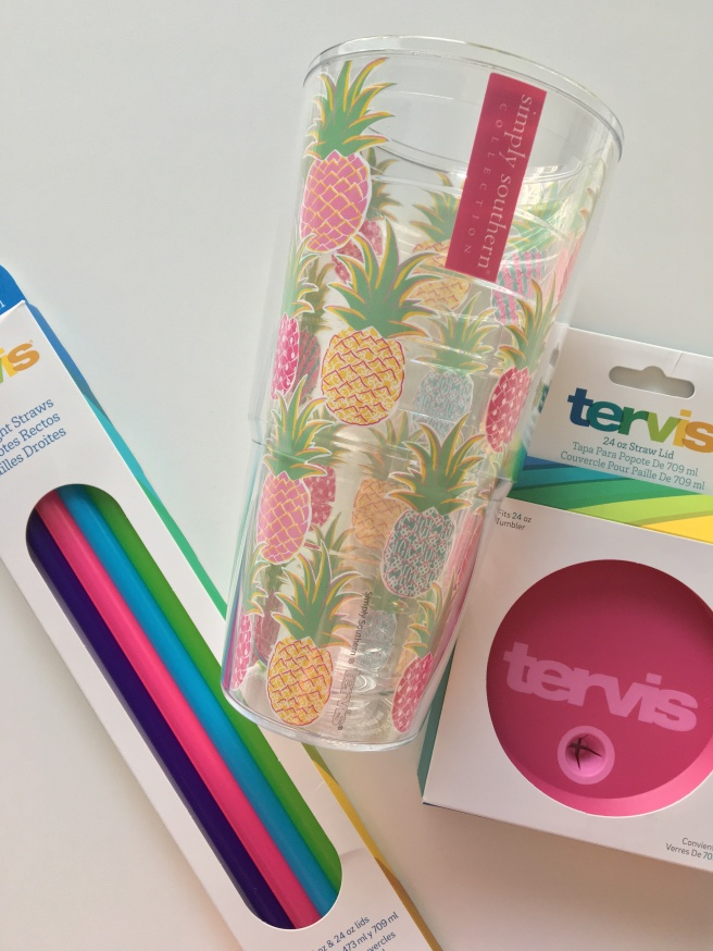 Color Pineapples Tervis