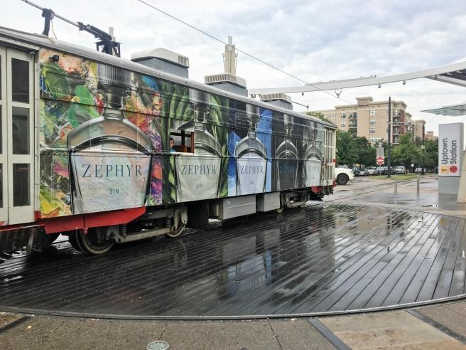 Uptown Dallas Trolley