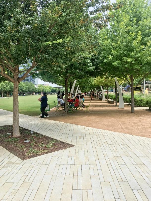 Klyde Warren Park Downtown Dallas