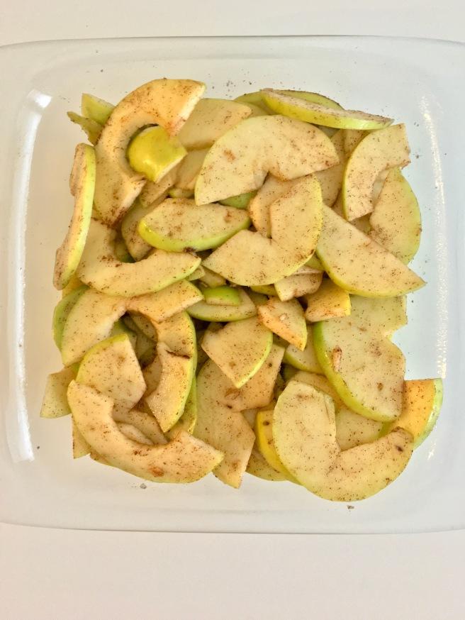 Homemade Vegan Apple Crisp
