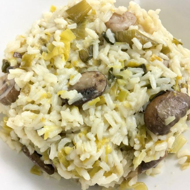 Leek and Mushroom Rice Dinner.JPG