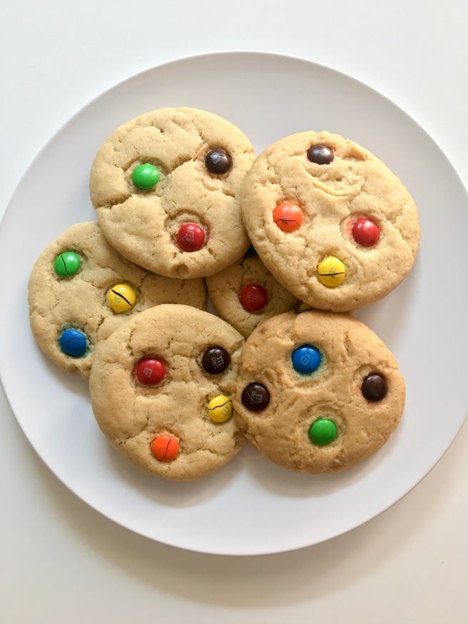 Dairy Free Egg Free MM Cookies