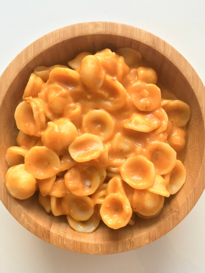 Pasta with Creamy Pumkin Sauce