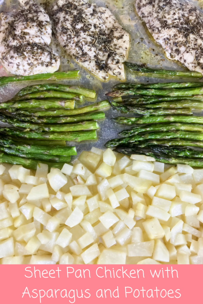 Sheet Pan Chicken with Asparagus and Potatoes