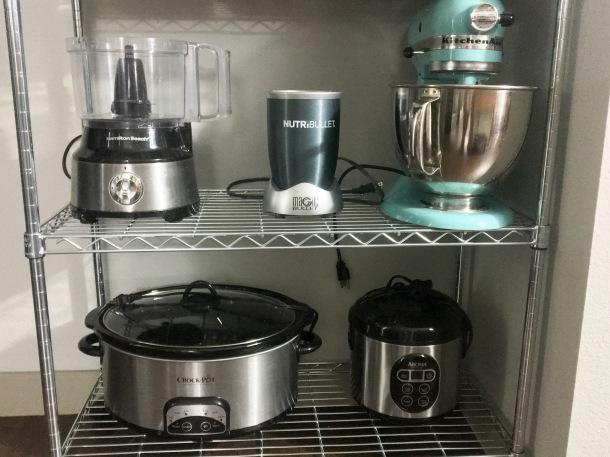 Apartment Kitchen Appliance Organization