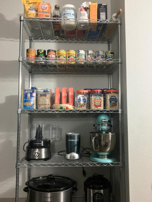 Apartment Kitchen Pantry Organization