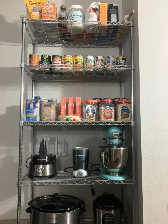 Apartment Kitchen Pantry Organization