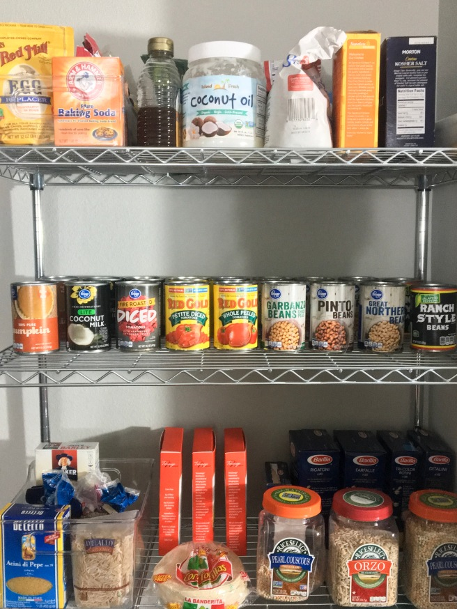 Apartment Pantry Organization