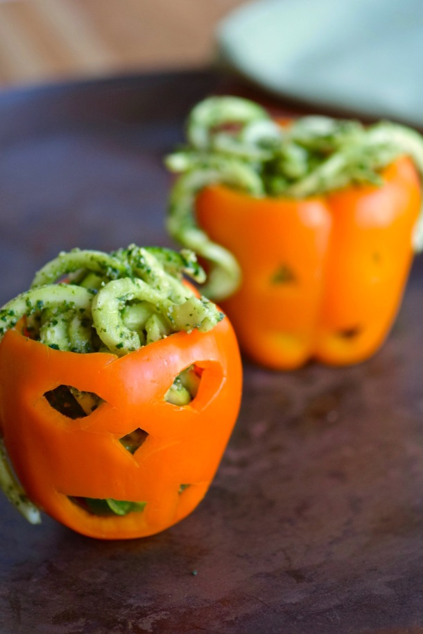 Dress+up+your+gluten+free+zucchini+noodles+with+a+vegan+pumpkin+kale+pesto.+Drop+them+in+a+colorfully+carved+orange+pepper,+and+you're+ready+for+Halloween!+_+TastingPage.jpg