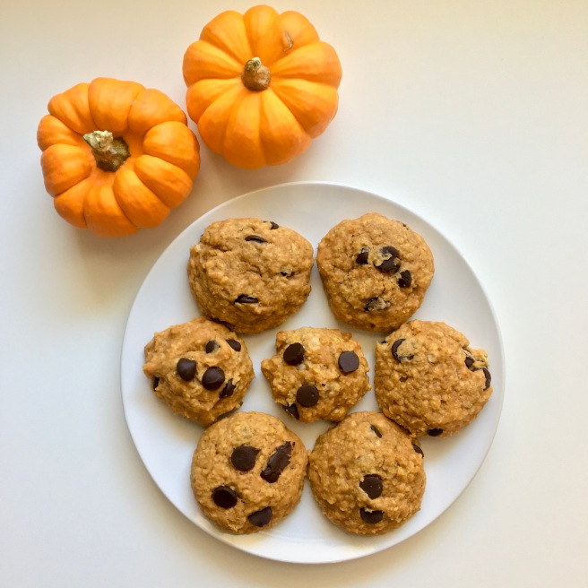 Pumpkin Chocolate Chip Cookies Homemade