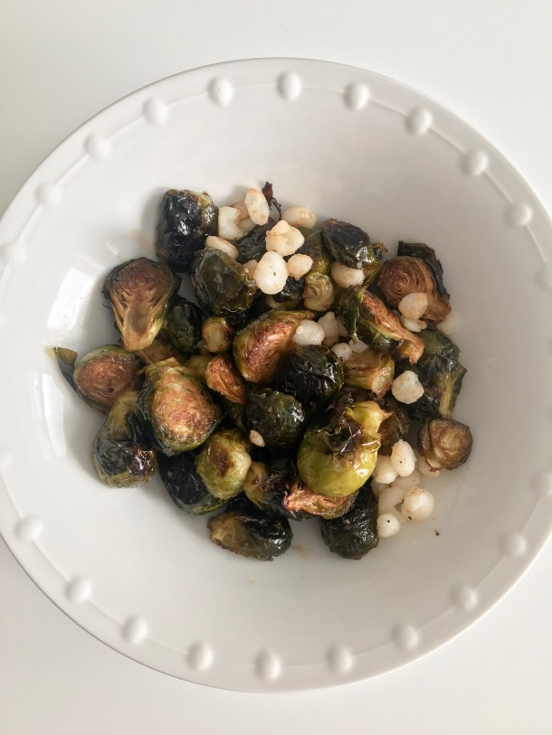 Brussels with Hominy