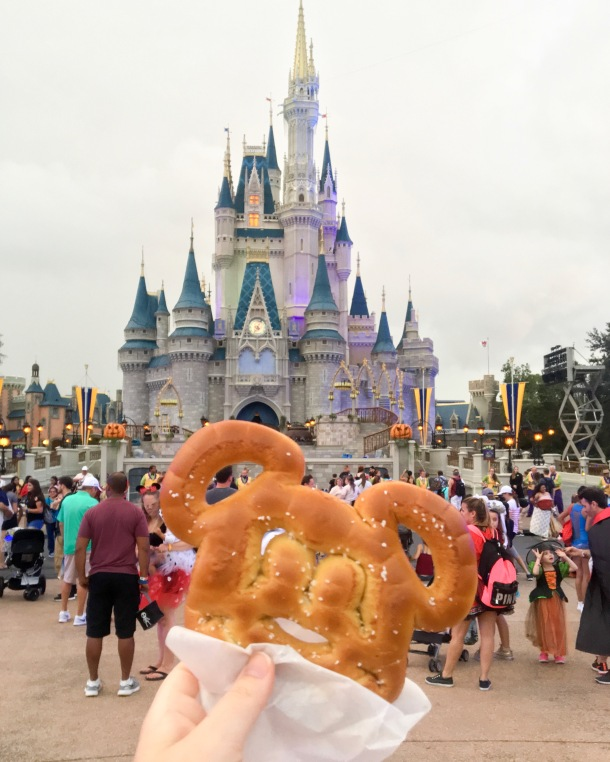 Mickey Ears Soft Pretzel
