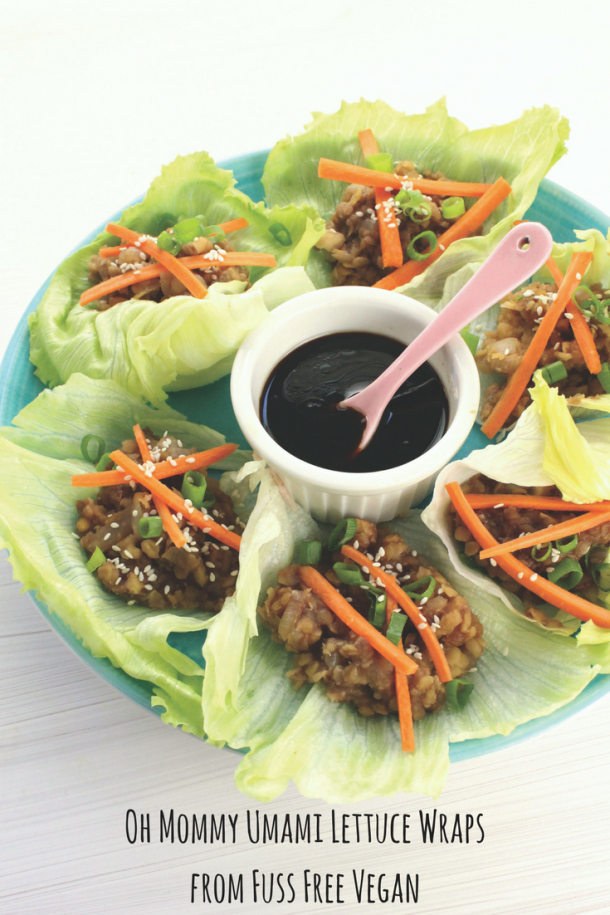 Oh Mommy Umami Lettuce Wraps from Fuss Free Vegan
