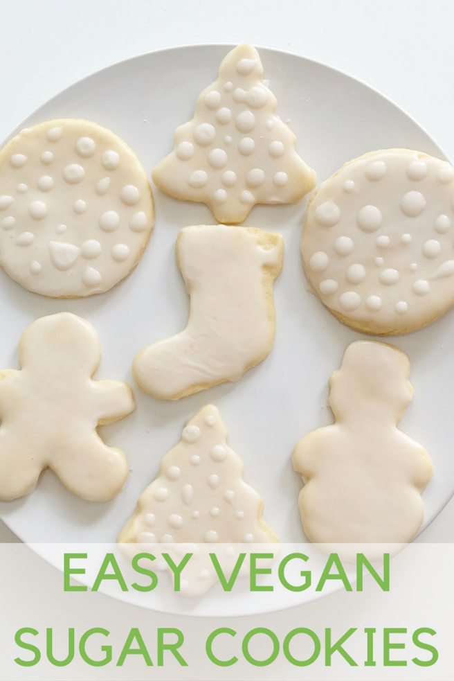 Easy Vegan Sugar Cookies