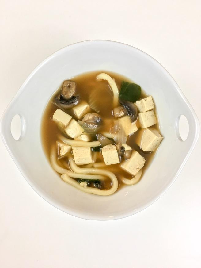One Pot Veggie Udon Soup