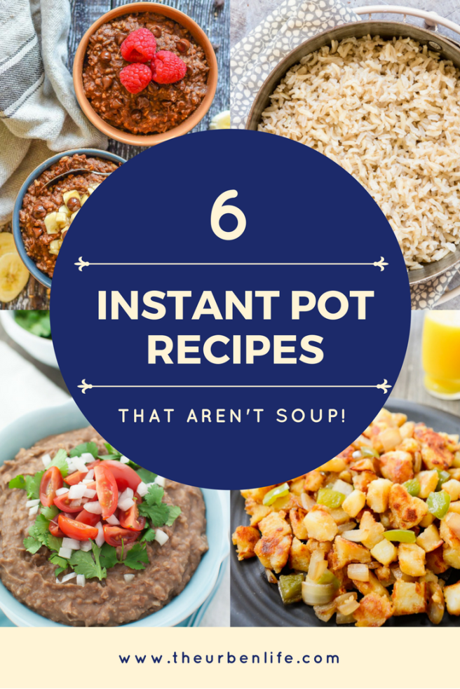 Instant Pot Recipes That Aren't Soup