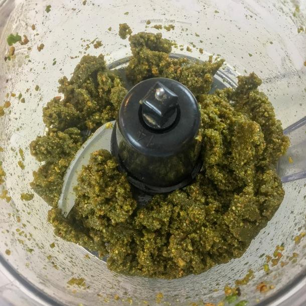 Pistachio Fresh Basil Pesto