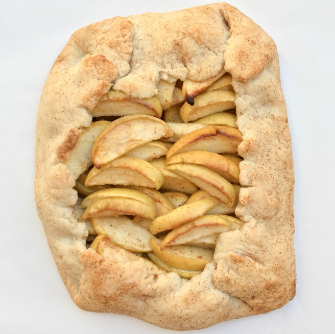 Rustic Vegan Apple Galette
