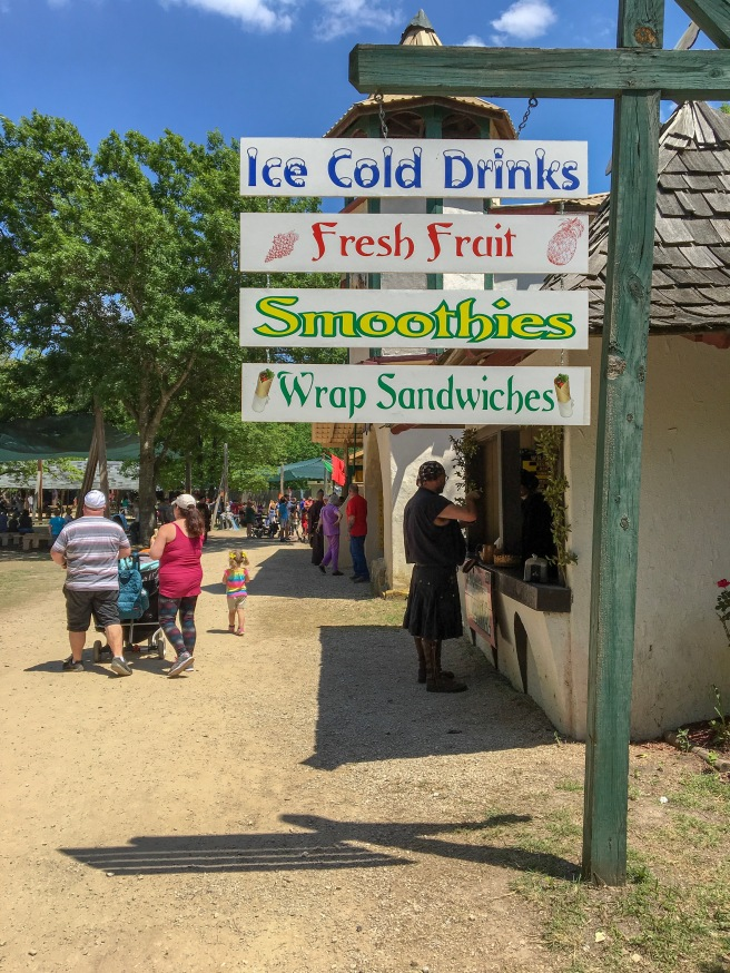 Food Options at Scarborough Renaissance Festival.JPG