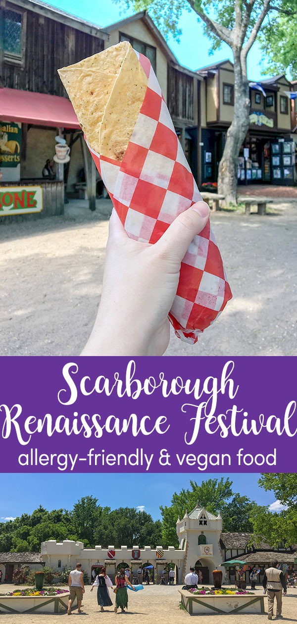Scarborough Renaissance Festival Food